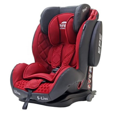 Автокресло детское Rant Thunder Ultra Isofix SPS Red