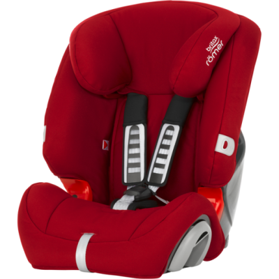 Автокресло детское Britax Romer EVOLVA 123 Flame Red