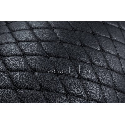 Багажник 3D Премиум черный с черной строчкой