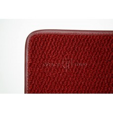 Дополнительный ворс текстильный красный объемный