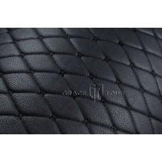 Багажник 2D Премиум черный с черной строчкой