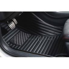 Комплект ковриков GT чёрный