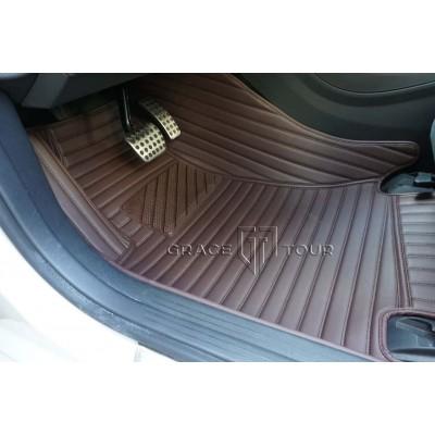 Комплект ковриков GT коричневый