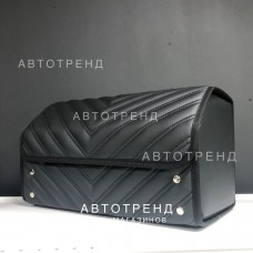 Кофр-органайзер в багажник (Черный/Черный/Черный/Заклепка)
