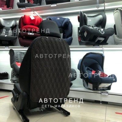Защитная накидка на спинку сиденья/Тёмно-коричневая
