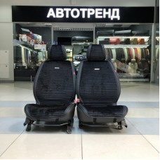 Накидки на сиденье MONACO черный(весь салон)