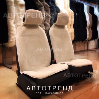 Накидки из овечьей шерсти (Белый) / Весь салон