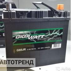 Аккумулятор Гигават GIGAWATT (560 412 051 G60JR)